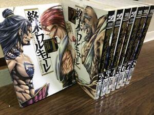 Record of Ragnarok Comic Manga Zenon Shumatsu no Walkure Japanese Lot 1-10 New
