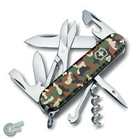 1.3703.94 35641 VICTORINOX Swiss Army Knife Climber Camouflage Camo Black Red