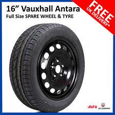 "Vauxhall Antara 2011-2017 16"" FULL SIZE STEEL SPARE WHEEL & TYRE 215/70R16"