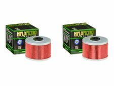 Quantity 2 - Hiflo Motorcycle Oil Filters HF112 fits DINLI 450 DL901 DMX 07-08
