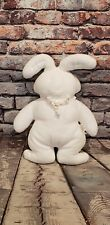 New ListingVintage 1994 Lily Bunny Plush Nabco North American Bear Company Rabbit White 12""
