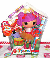 BITTY BUTTONS Lalaloopsy Peanut Big Top large doll + pet, swing tag + poster VGC