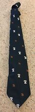 Vintage Men's Rivetz of Boston Liberty Bell And 76 Embroidered On Green Tie