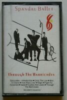 Spandau Ballet Through the Barricades Cassette FET 40642
