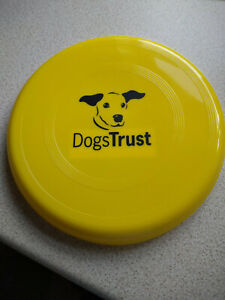 Dogs Trust Frisbee Flying Disc Toy for Dogs.