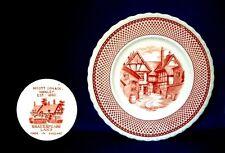 Shakespeare Land Plate - Emms Court - Myott Son & Co. - England