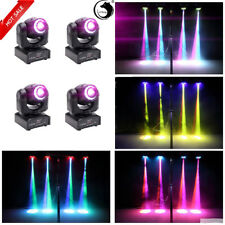 4PCS 70W Stage Light Moving Head LED RGBW Gobo Magical Circle For DMX DJ Party