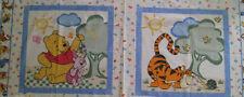 Disney Winnie The Pooh & Friends Cushion Panels Cotton Quilting Fabric-2 Panels