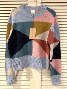 "New! Pretty GORMAN ""Habitual Patch"" Jumper Sweater  * Size 14 (fits 10 12)"