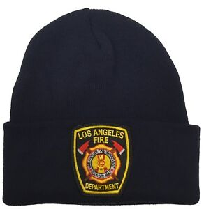 City of Los Angeles LAFD Navy Beanie