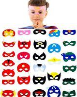 30 PACK Superhero Kids - Super Hero Party Supplies Justice League Birthday