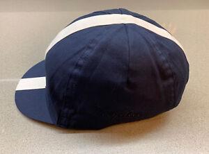 Rapha Cap Dark Navy Cream Size Small/Medium Brand New With Tag