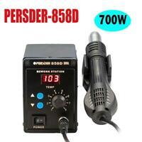 PERSDER-858D SMD Soldering Rework Station Hot Air Gun Digital LED Display 700W