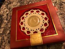 Lenox Snow Lights Shimmer Votive tealight candle holder - Porcelain ornament