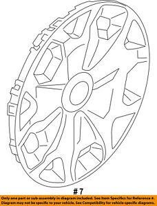 FORD OEM 14-16 Transit Connect Wheels-Wheel Cover DT1Z1130B