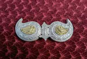 Antique belt buckle - 'pafta' from Plovdiv,  filigree buckle and beads belt
