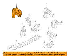 TOYOTA OEM 01-05 Celica-Engine Motor Mount Torque Strut 1230522290