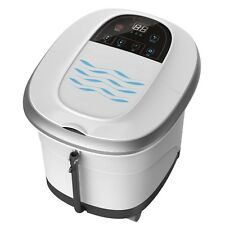 Deep Foot Massager Machine Hot Water Shiatsu Rollers Muscle Stimulator Home Spa