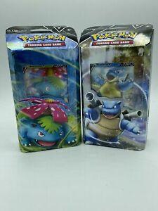 Pokemon TCG Trading Card - V Battle - Theme Deck 2 Pack Venasaur Blastoise