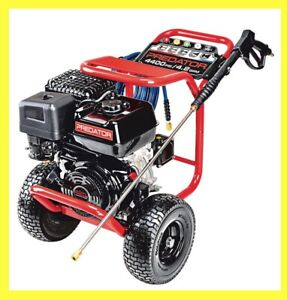 PREDATOR 4400 PSI, 4.2 GPM, 13 HP (420cc) Commercial Duty Pressure Washer CARB