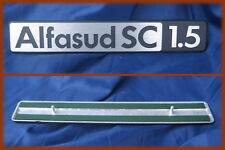 ALFA ROMEO ALFASUD SC 1.5 - SCRITTA METALLICA BADGE