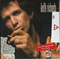 KEITH RICHARDS Talk Is Cheap 2019 UK 17-trk numbered promo 2-CD sticker sealed