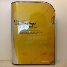 MS MICROSOFT VISIO 2007 STANDARD VOLLVERSION + ZWEITLIZENZ - DEUTSCH NEUWERTIG