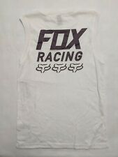 Fox Racing New Overdrive Tank Top Women's Small White