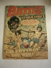 BATTLE With STORMFORCE  comic 30th May 1987