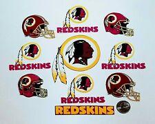 New listing Washington Redskins Helmets & Logo Fabric Iron On Appliques, 10 Pc 1933-2020