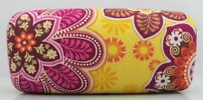 Vera Bradley Sunglasses Case BALI GOLD Pattern Large Hard Shell case NEW