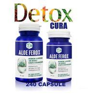 ALOE FEROX 240 cps, DIMAGRANTE e DETOX 100% NATURALE, PERDITA PESO, STOP FAME