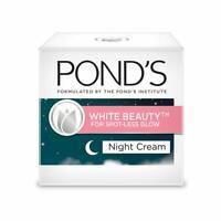 POND'S White Beauty Night Cream, 50 g - F/Shipping