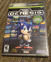 Sonic's Ultimate Genesis Collection XBox 360 Complete With Manual