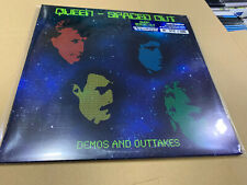 QUEEN 2 LP SPACED OUT LIMITED EDITION BLUE VINYL