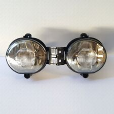 Pair For 2002-2009 Dodge RAM 1500 2500 3500 SMOKE Lens Fog Lights with Bulbs