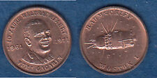 Raumfahrt Yuri Gagarin Cu-Medaille 18 mm (Tb.uu)   stampsdealer