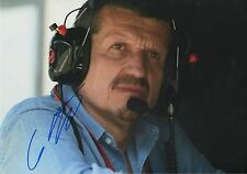 """Günther Steiner """"Teamchef Haas 2016"""" Autogramm signed 20x30 cm Bild"""