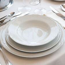 Set di 3 Piatti stile inglese in Porcellana bianca decoro Praga di Saturnia