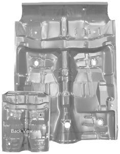 1964-67 Chevelle, GTO, Skylark, Cutlass Floor & Rear Seat Pan Complete w/ WTP