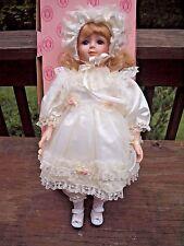 """Design Debut Porcelain Doll 19"""" Lil Diane"""