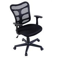 Modern Ergonomic Mid-Back Executive Computer Desk Task Office Chair Mesh Back