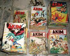 RARE: 97 petits formats AKIM entre le 352 (1974) et le 117 (nouvelle série 2003)