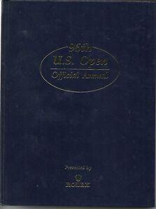 96 US OPEN ANNUAL USGA GOLF BOOK OAKLAND HILLS UNITED STATES OPEN