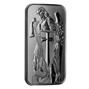 1oz .999 Silver Bar - Scottsdale Mint Archangel Silver Bullion Bar #A522