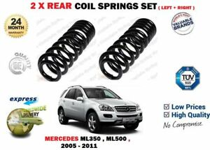 FOR MERCEDES W164 ML350 ML500 4 MATIC 2005-2011 NEW 2X REAR COIL SPRINGS SET