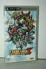 DAI-2-Ji SUPER ROBOT WARS TAISEN Z USATO OTTIMO SONY PSP ED GIAPPONESE VBC 37338
