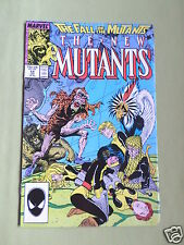 THE NEW MUTANTS- MARVEL COMIC - VOL 1  #59 - JAN 1988