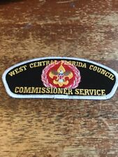 West Central Florida Council Commissioner Service CSP BSA Boy Scouts 6-61I