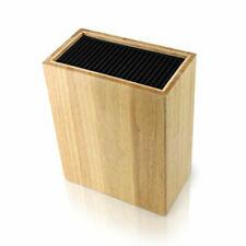 Grunwerg Universal Kitchen Knife Storage Block Wooden Holds 20 Knives Holder